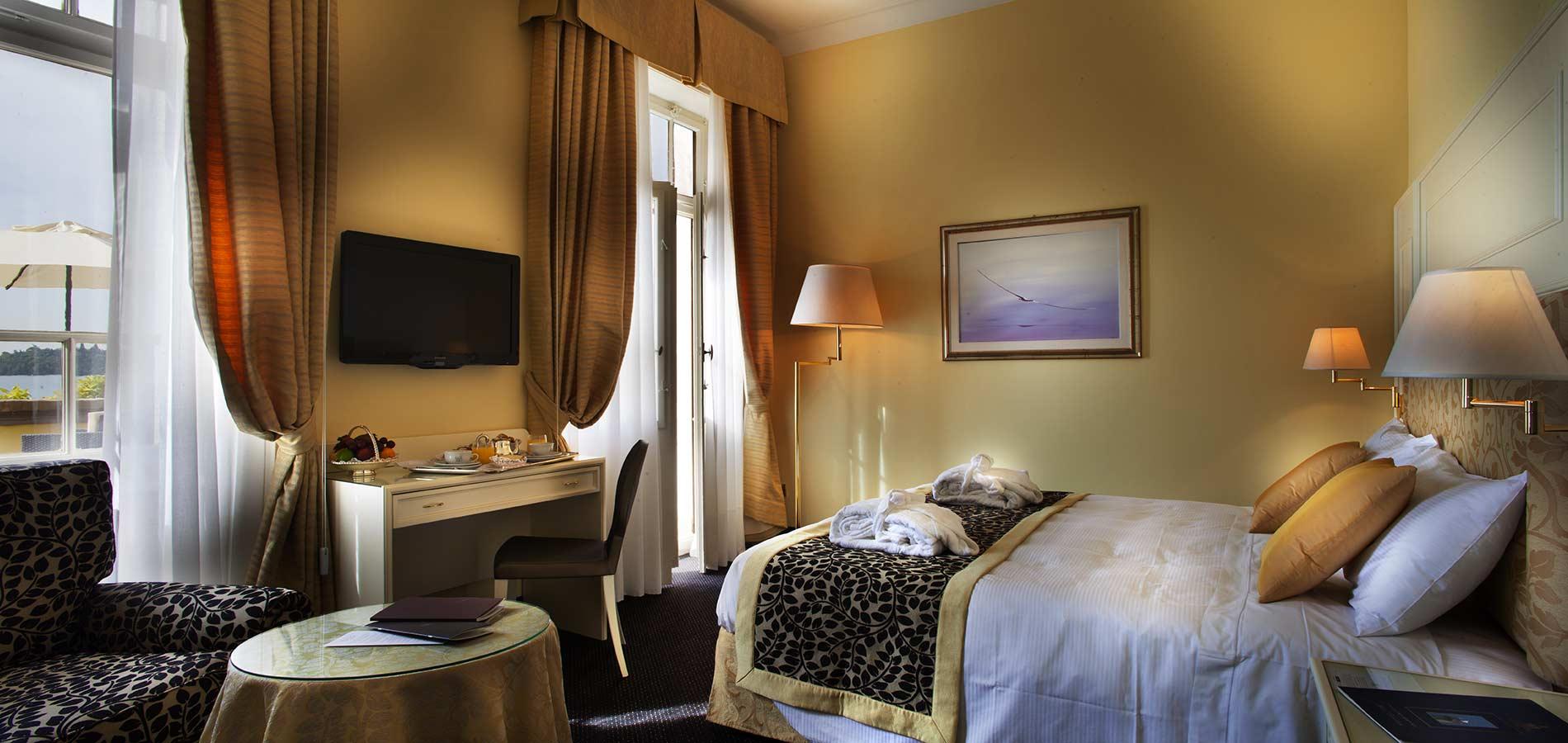 Deluxe Double Room Hotel Gardone Riviera