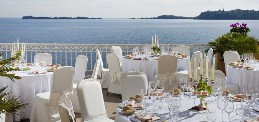 Panorama View Wedding Garda Lake
